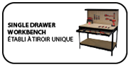 single drawer workbench